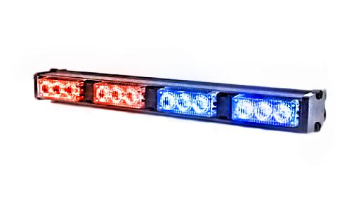 Led emergency light bars 2 lights lumax intensifier ii led emergency light bars lumax aloadofball Images