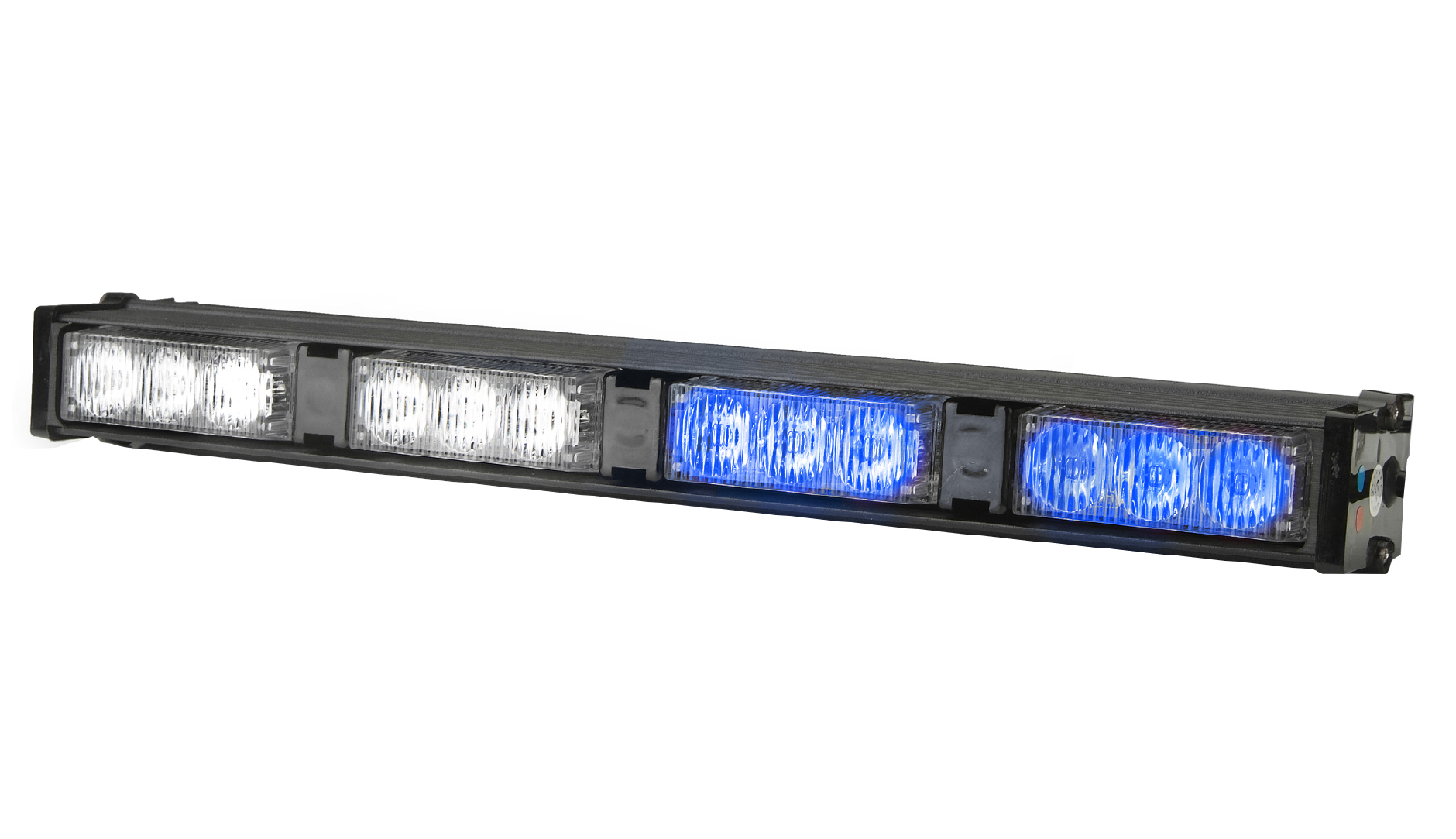Emergency light bars for vehicles